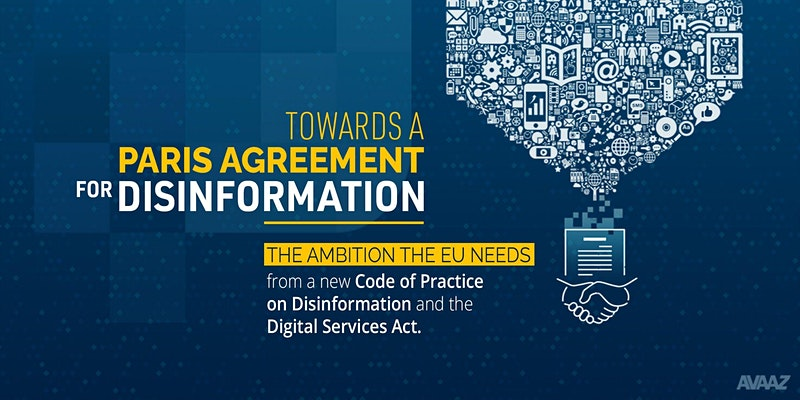 Towards a Paris Agreement for Disinformation